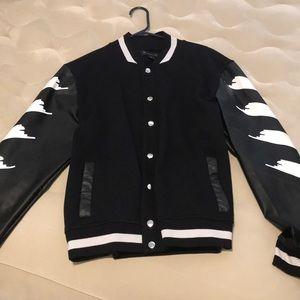 Inc Concept Strokes Varsity Jacket